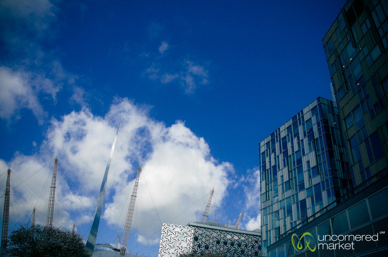 Greenwich Peninsula, Modern Architecture - London, United Kingdom