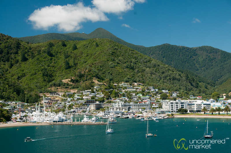 Sailing into Picton - South Island, New Zealand