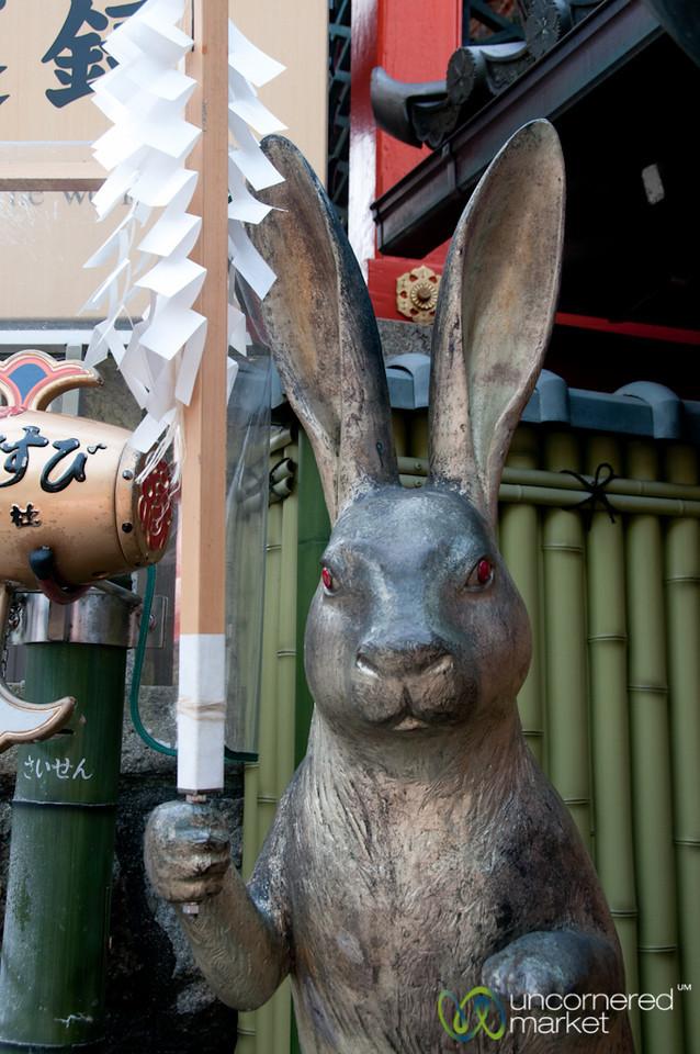 Lucky Rabbit at Kiyomizu-dera Temple - Kyoto, Japan
