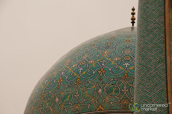 Imam Mosque Dome - Esfahan, Iran