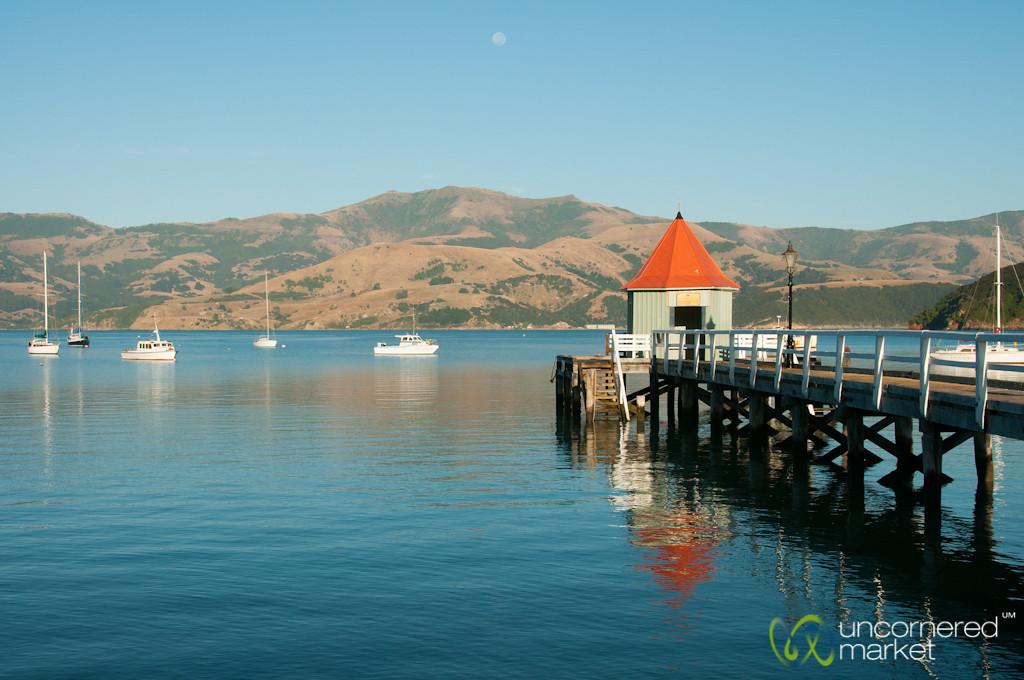 Akaroa Dock in Early Morning - New Zealand