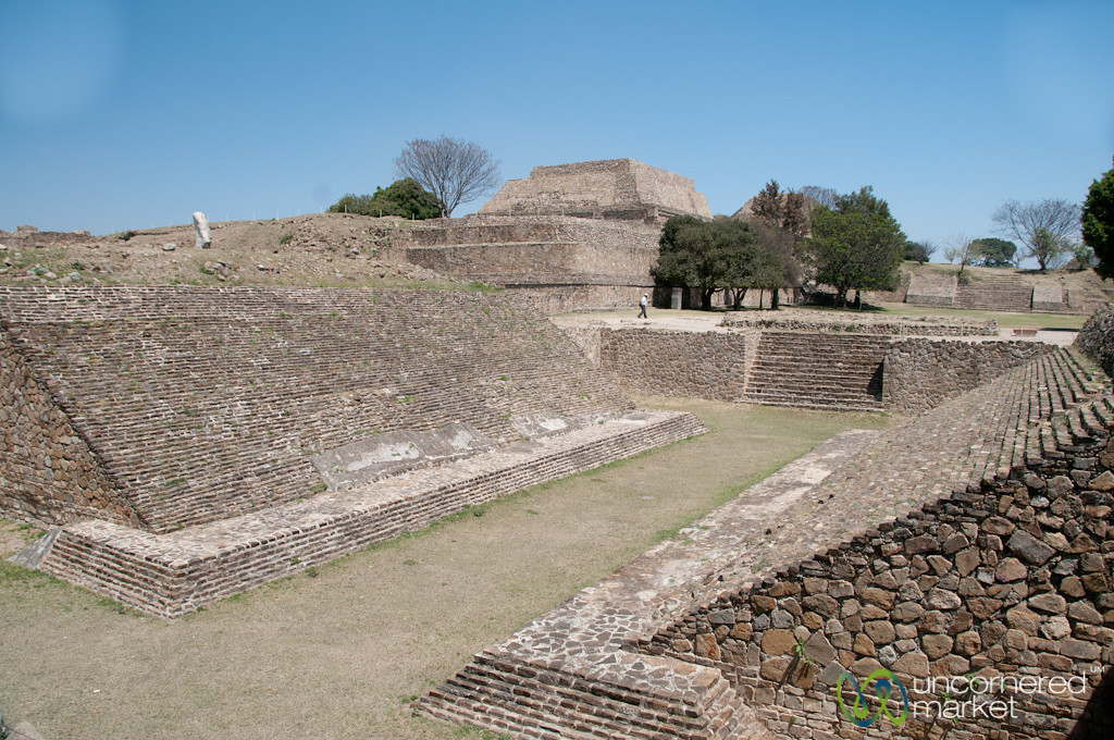 Monte Alban Ball Court - Oaxaca, Mexico