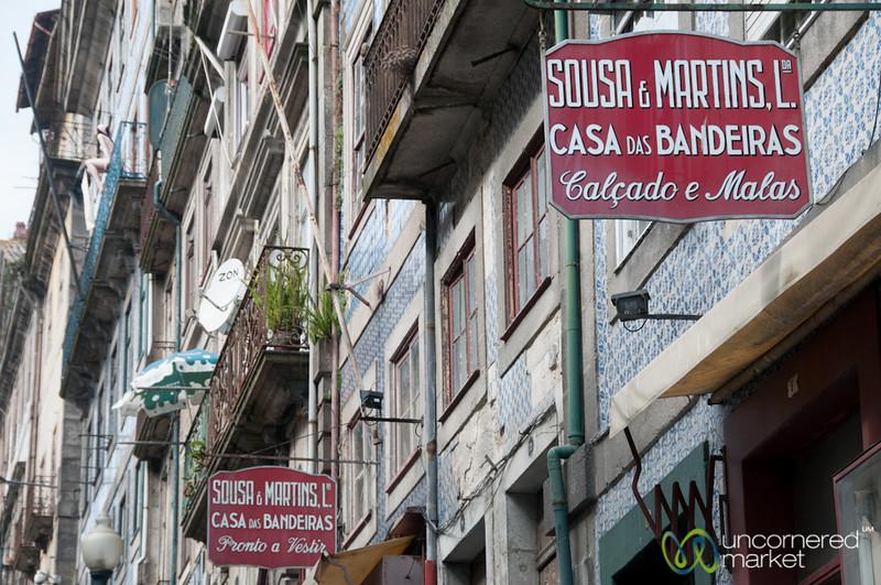 Porto Streets and Signs - Porto, Portugal