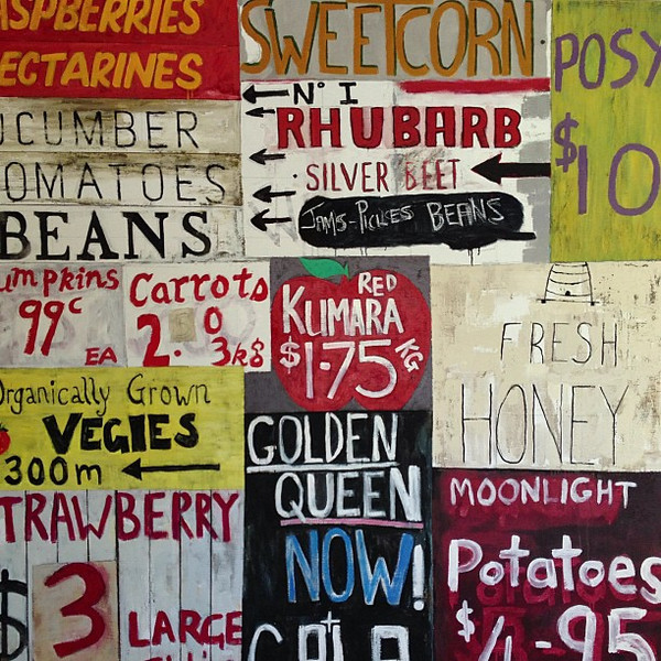 Pop art meets the New Zealand summer harvest -- from the halls of Greenhough Winery