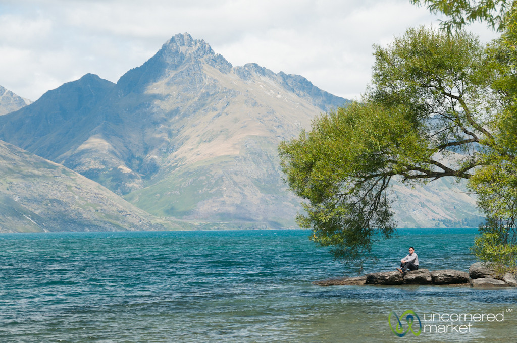 Queenstown Lake Relaxation - South Island, New Zealand