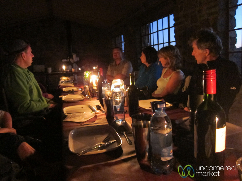 Dinner on the Edge of Fish River Canyon