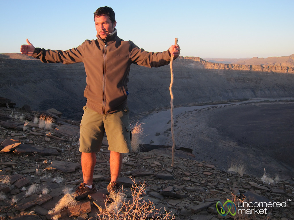 Fish River Canyon at Sunrise with Guide - Namibia