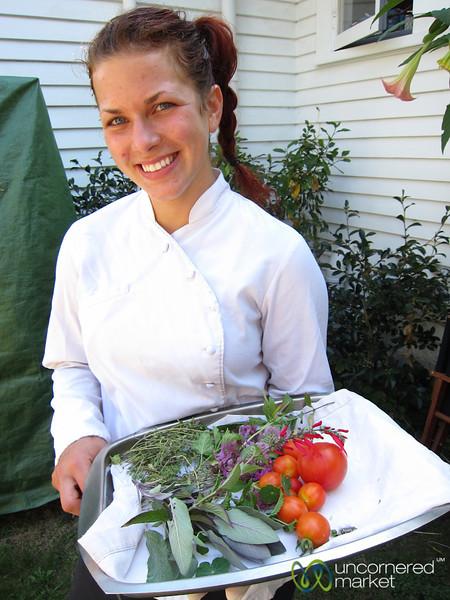 Vanessa Takes Us Around Garden of Hans Herzog - Marlborough, New Zealand