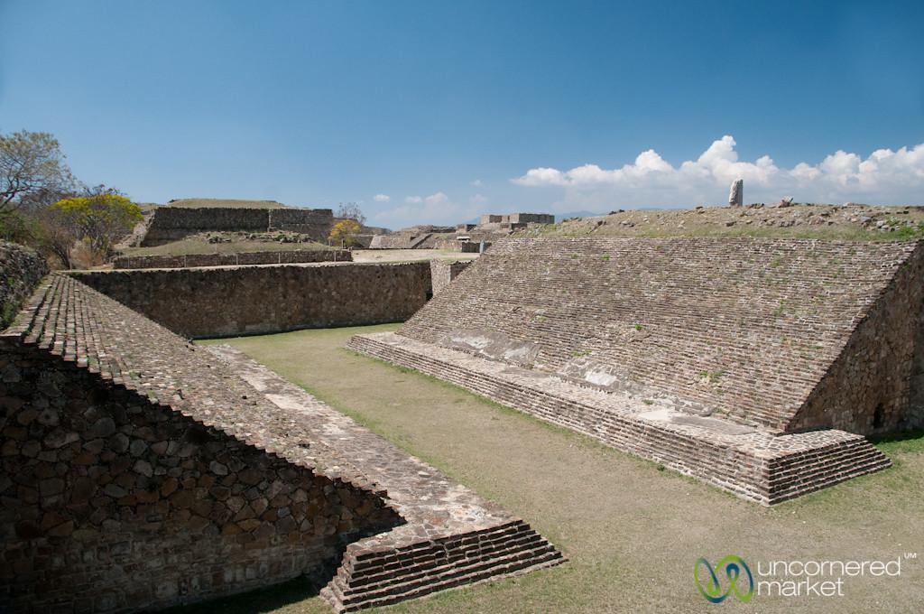 Ball Court at Monte Alban - Oaxaca, Mexico