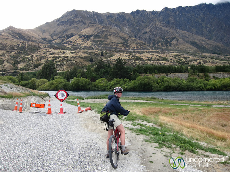 Audrey, Mountain Biking Near Queenstown - New Zealand