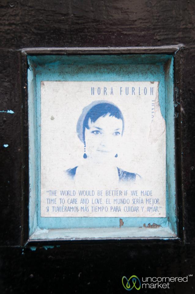Cork Doorway, Words of Wisdom - Ireland