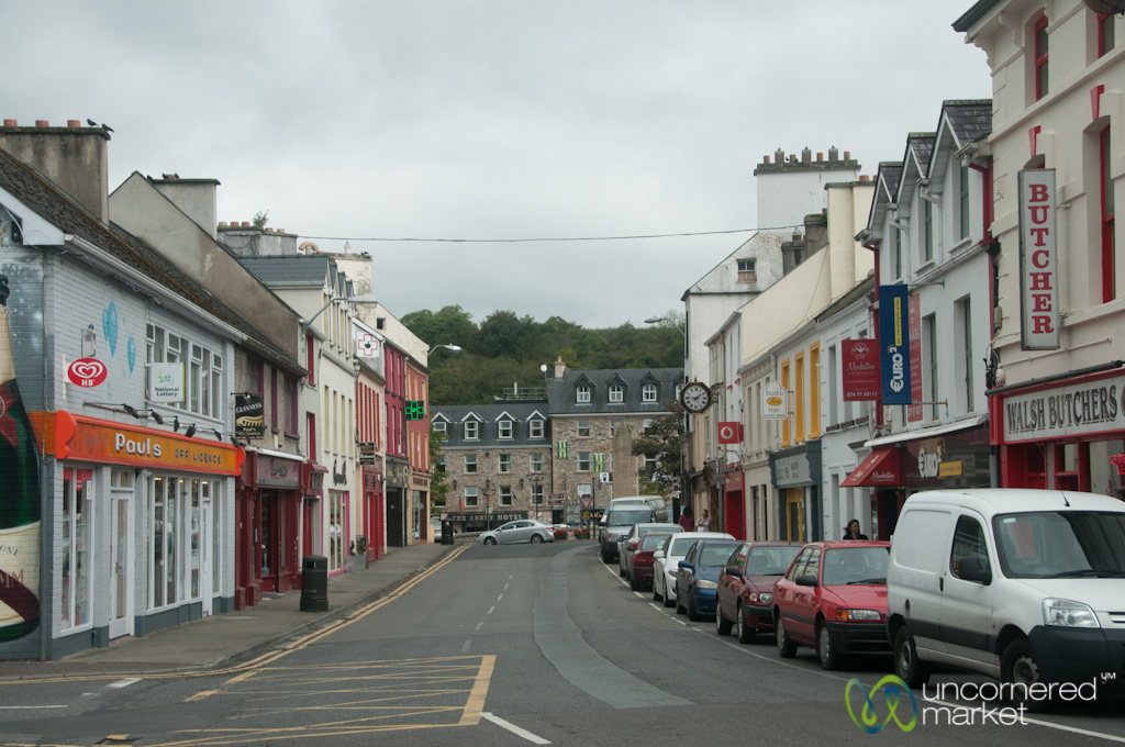 Donegal Town Colorful Street - Donegal, Ireland