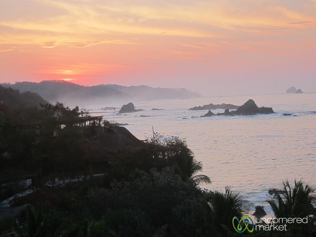 Sun Rising Over Mazunte - Mexico