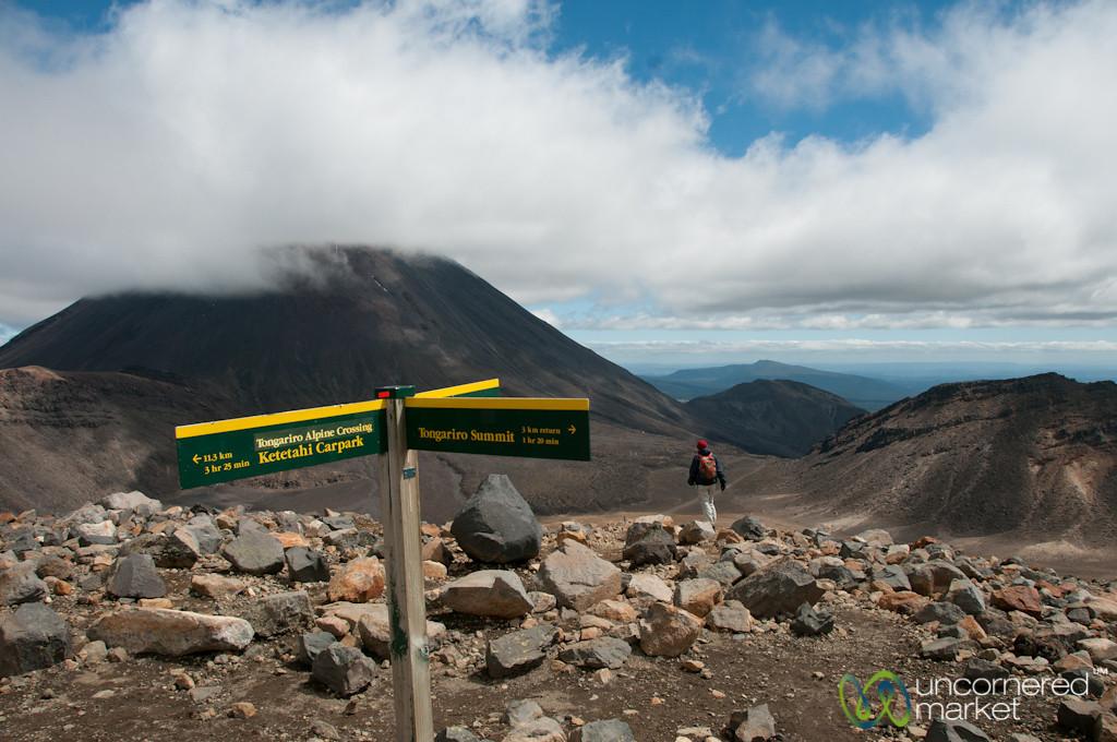 Trekking the Tongariro Crossing - New Zealand