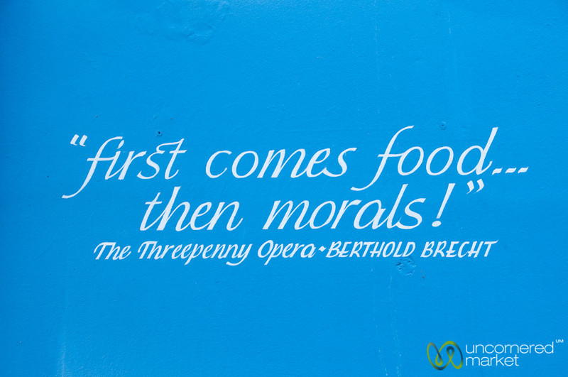 Great Food Quote - Edinburgh, Scotland