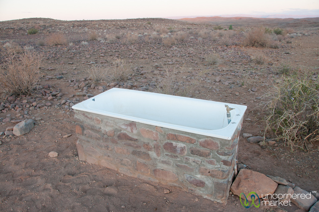 Bathtub in the Desert - Fish River Canyon, Namibia