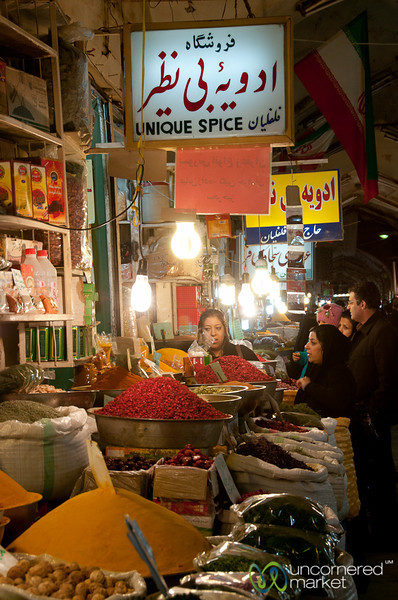 Esfahan Spice Market in Iran
