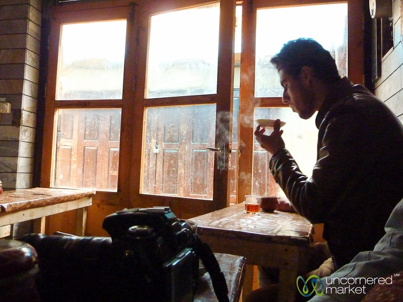 Iranian Teahouse in Masuleh