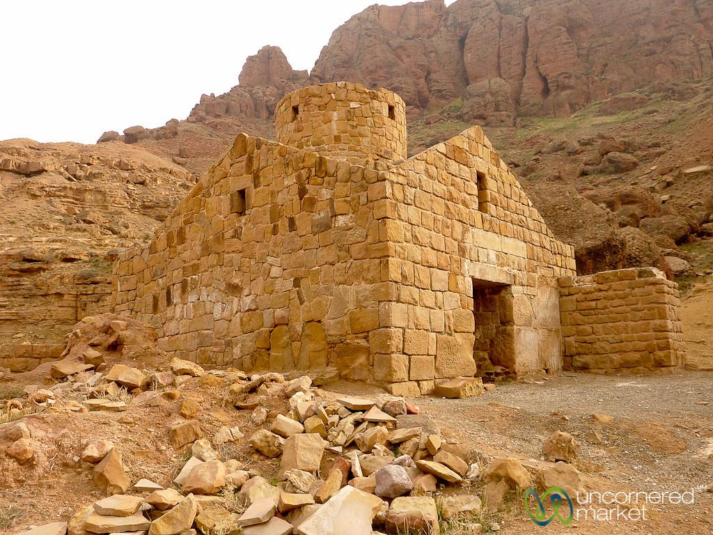 Armenian Church Ruins on Way to Jolfa, Iran