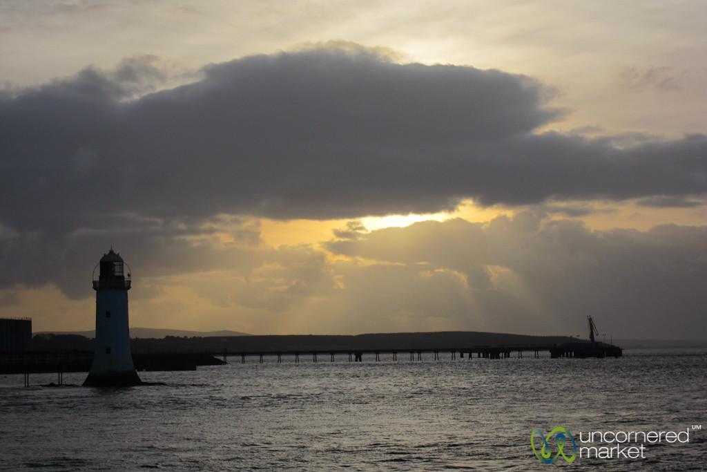 Sunset Shannon Ferry Ride  - Ireland