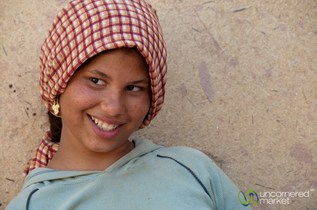 Egyptian Girl - Tunis, Egypt