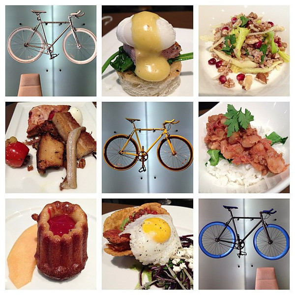 Work it Off: 6-course around-the-world brunch and the bicycles to burn it off @hotelTemplar