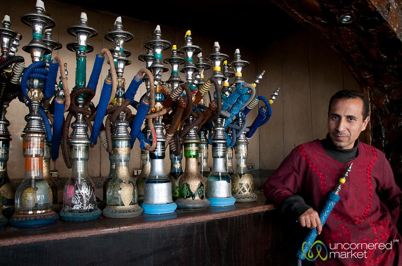 Hookah Pipe Master of Cairo, Egypt