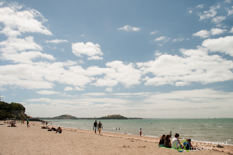 Mission Bay Beach - Auckland, New Zealand