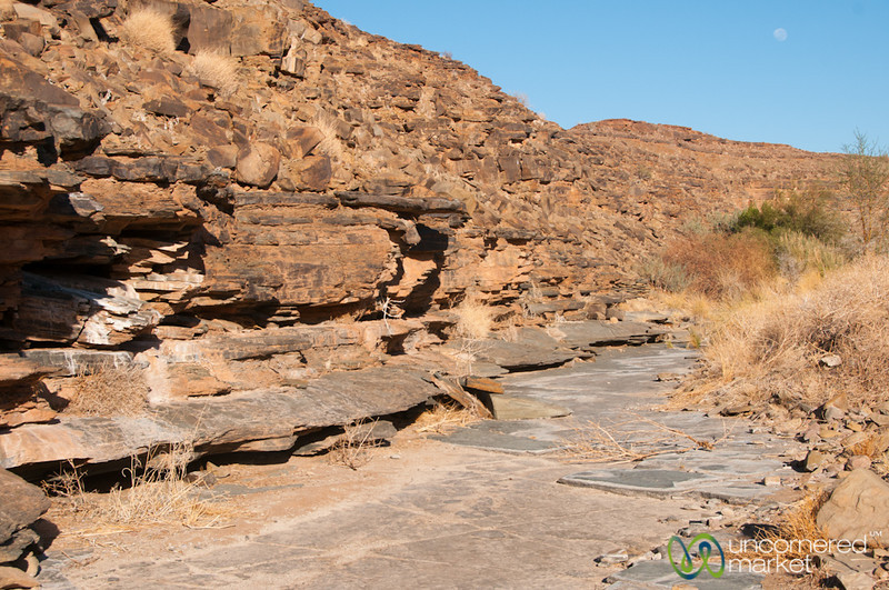 Walk Near Fish River Canyon, Early Morning - Namibia