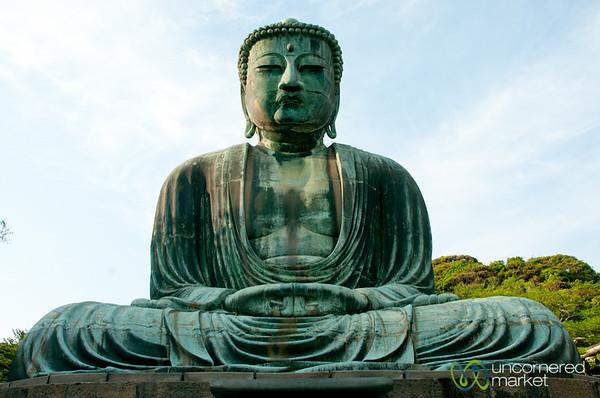 Kotokuin Temple, Great Buddha - Kamakura, Japan