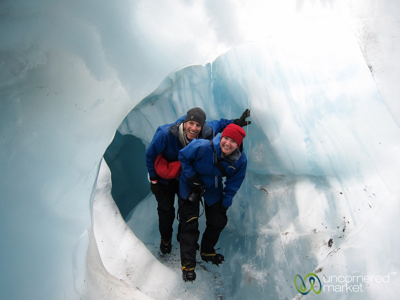 Glacier Hiking at Franz Josef Glacier - South Island, New Zealand