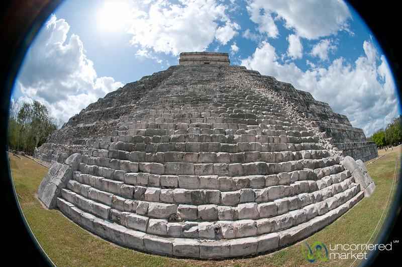 El Castillo at Chichen Itza, Mexico