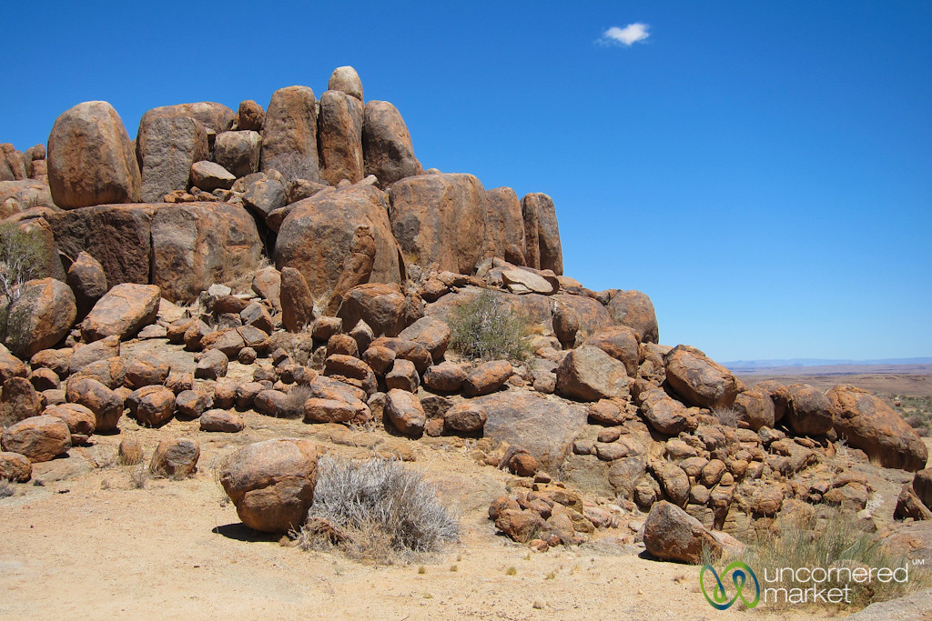 Desert Rocks at Canyon Lodge - Namibia