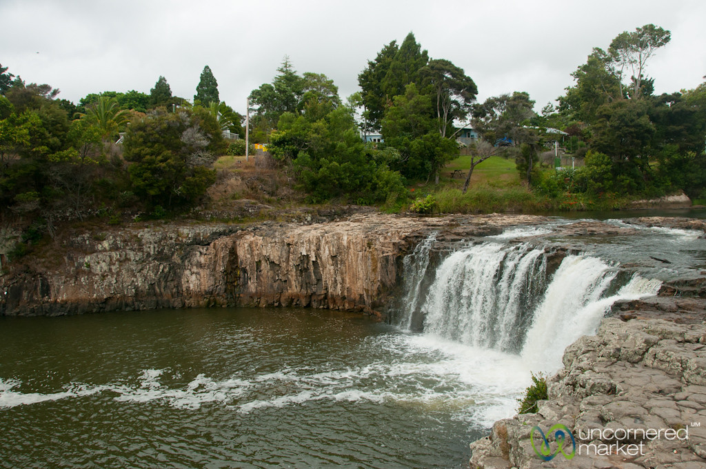 Haruru Falls near Waitangi - Northland, New Zealand