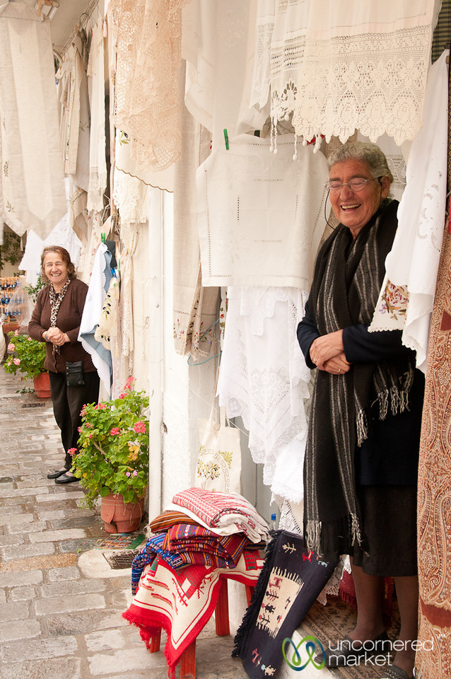 Friendly Shopkeepers in Kritsa, Crete
