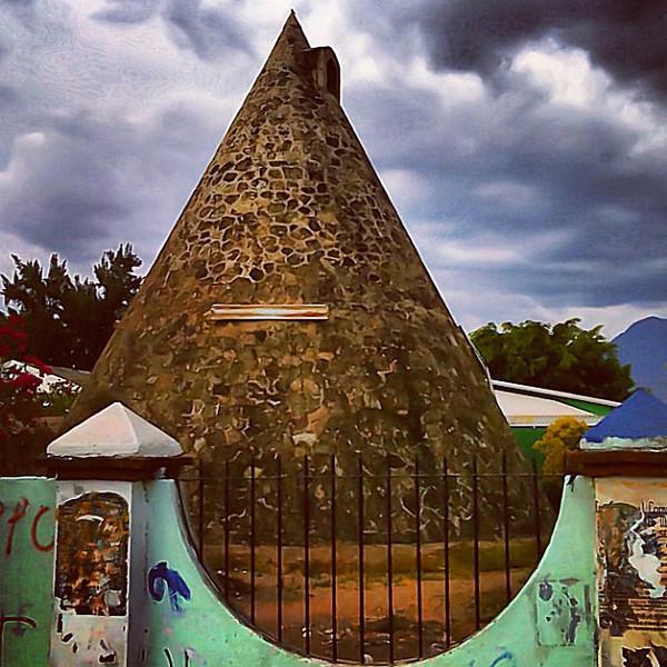 The Cone of the Gringos #Oaxaca #sky