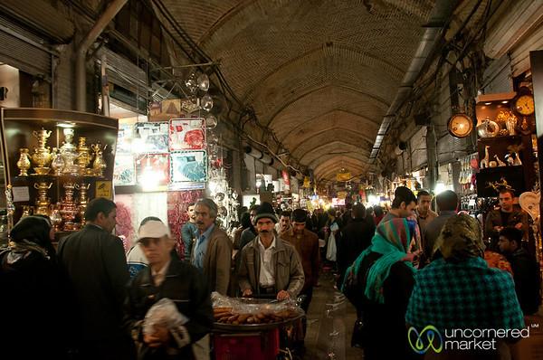 Tehran Bazaar, Long Alleys - Iran