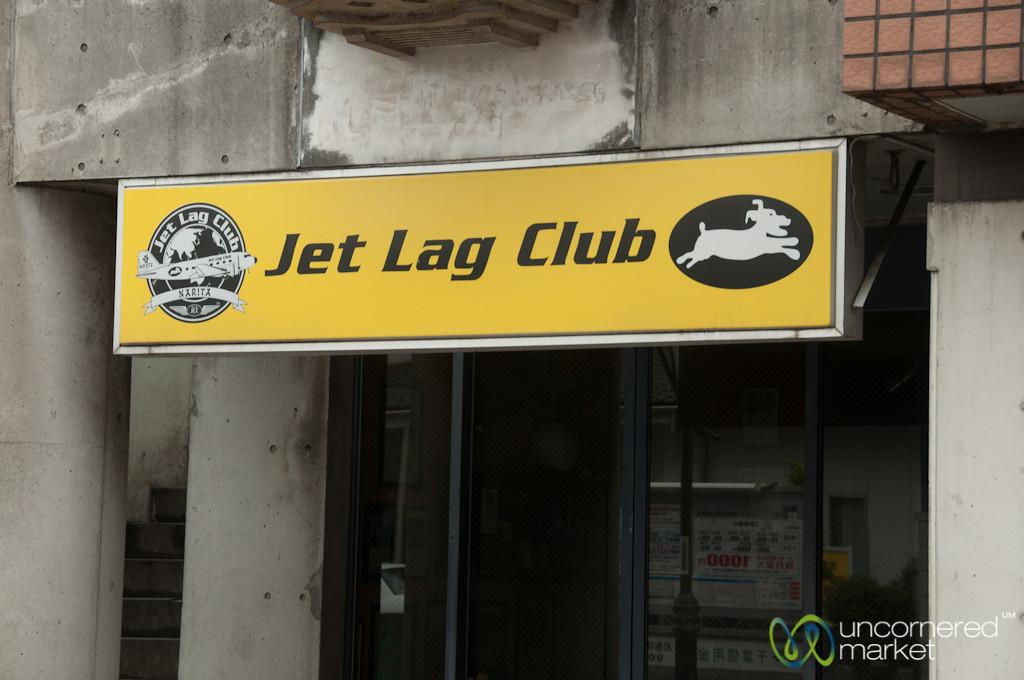 Jet Lag Club of Narita, Japan