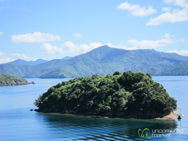 Wellington to Picton by Ferry - New Zealand