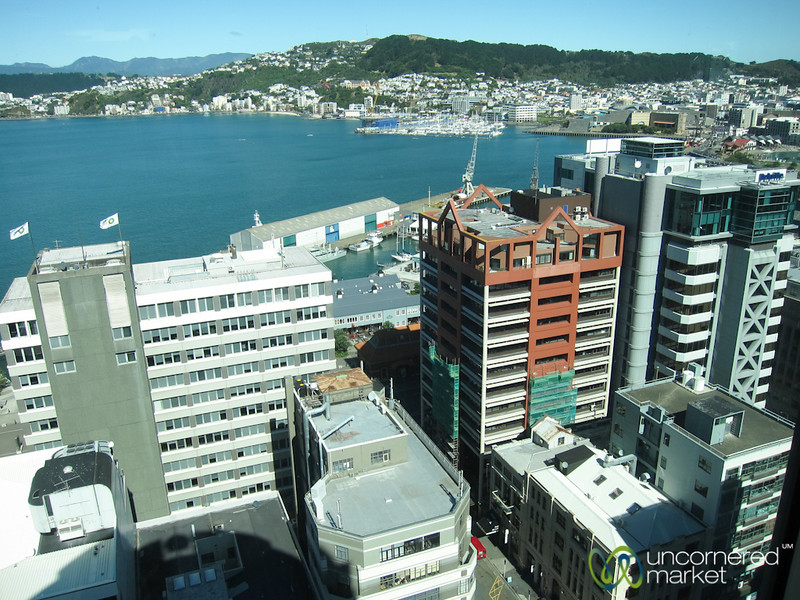 Wellington Skyline - North Island, New Zealand
