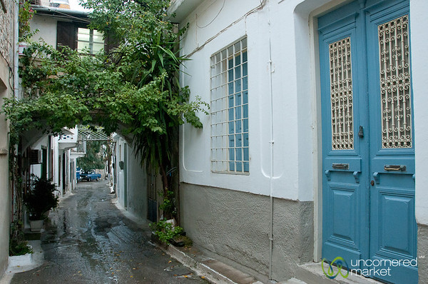 Kritsa Street - Crete, Greece