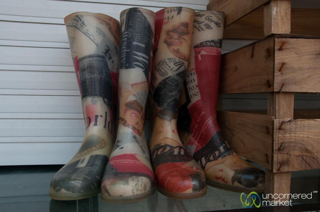 Boots at Mercado Bolhão - Porto, Portugal