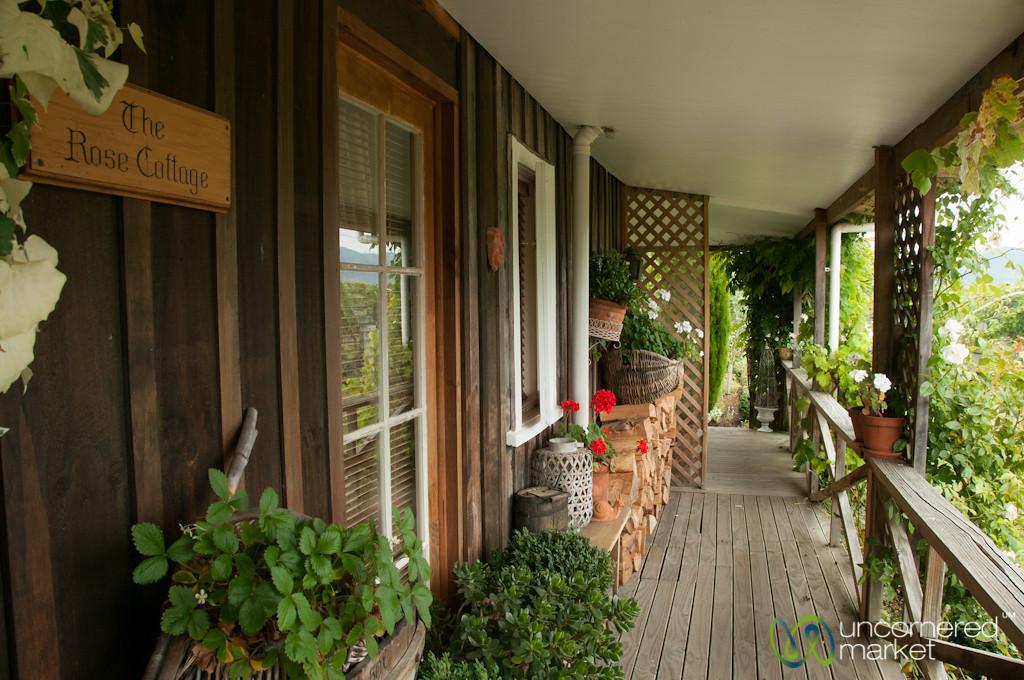 The Rose Cottage at Hans Herzog Winery - Marlborough, New Zealand