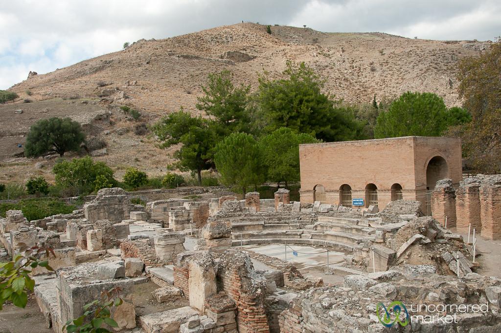 Gortyn Odeon - Crete, Greece