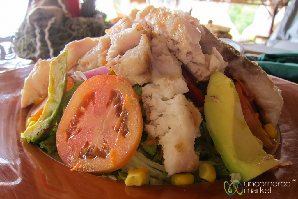 Grilled Fish Salad - Morgan's Rock, Nicaragua