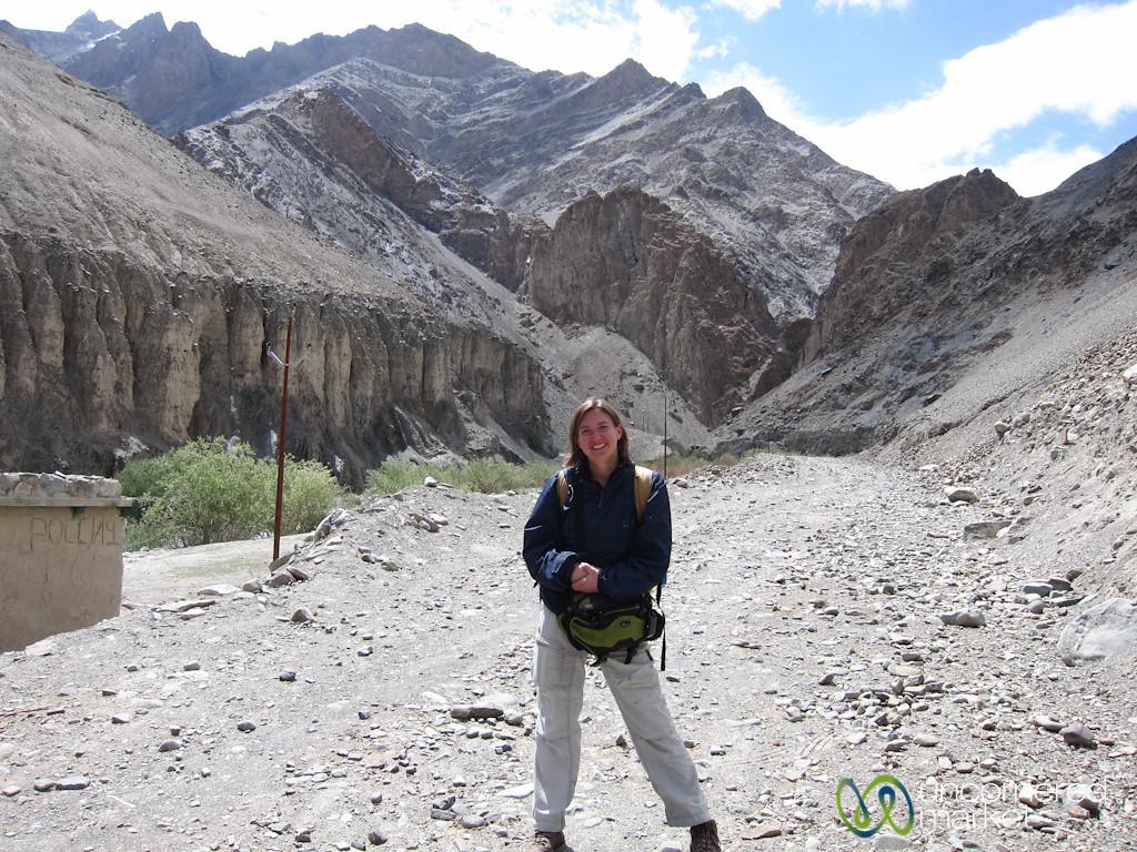 Audrey Begins Markha Valley Trek - Zingchan, Ladakh