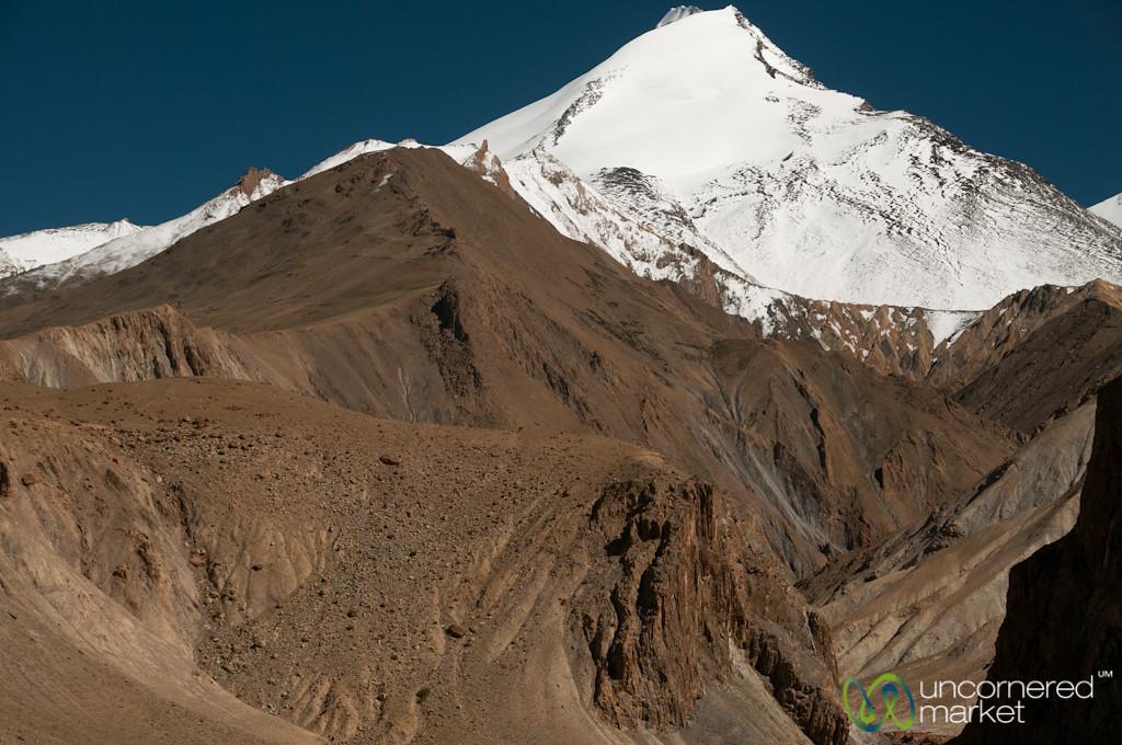 Hankar Village Mountain Views - Ladakh, India