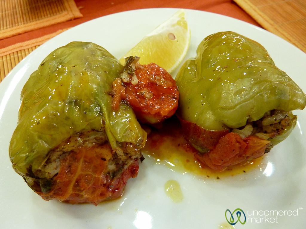 Stuffed Peppers - Istanbul, Turkey
