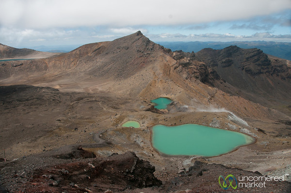 Emerald Lakes of Tongariro Crossing - New Zealand