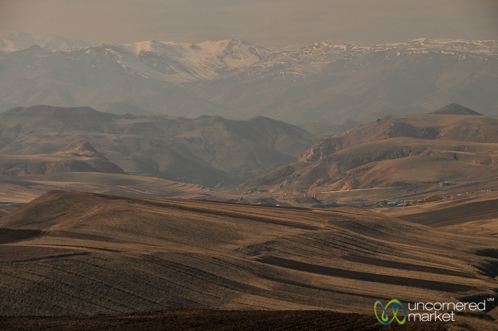 Snow-Covered Iranian Mountains - Tehran to Rasht